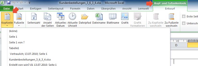 Aktuelles Datum in Excel eintragen